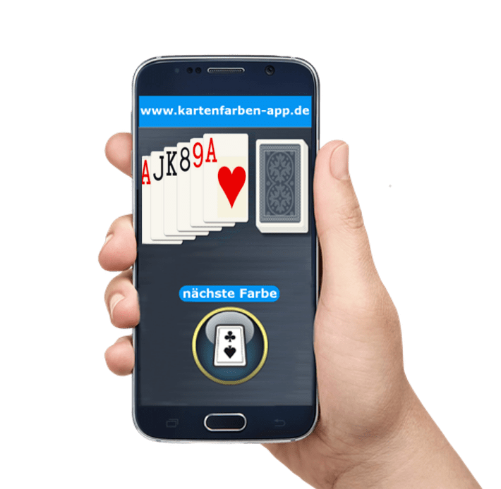 Merkur Kartenfarben App